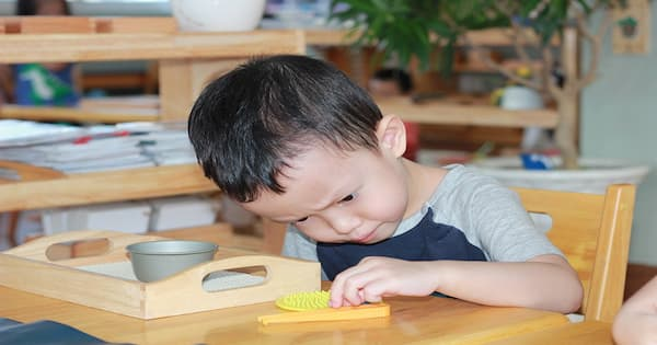 Áp dụng phương pháp Montessori cho bé