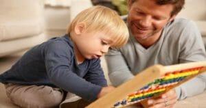 dạy bé 3 tuổi học toán