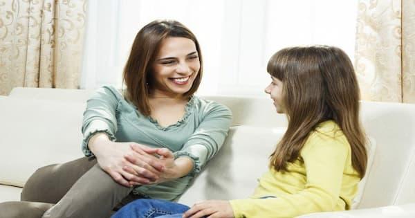 mẹ tâm sự cùng con gái